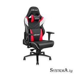 Gaming Chair AD4XL-03-BWR-PV AndaSeat Assasin King Series BLACK&RED 3DArmrest 65mm Wheel PVC Leather
