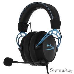 Наушники с микрофоном KINGSTON HYPERX HX-HSCAS-BL/WW Cloud Alpha S (Blue)  jack 3.5 mm BLACK/BLUE