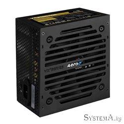 Блок питания Aerocool VX PLUS 550,  550W, ATX, (230V None-PFC), 20+4 pin, 4+4pin, 3*Sata, 3*Molex, 1*FDD, 1*PCI-E 6+2 pin, Подде
