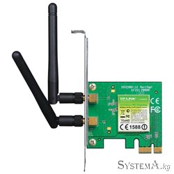 Адаптер Wi-Fi PCI Express TP-LINK TL-WN881ND 300 Мбит/с 2 дБи