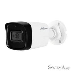 HDCVI Camera DAHUA DH-HAC-HFW1801TLP-A(2.8mm) цилиндр,уличная,8MP,IR 80M,METAL,MIC