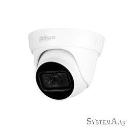 HDCVI Camera DAHUA DH-HAC-HDW1801TLP-A-S3A(2.8mm) купольная,уличн 8MP,IR 30M,BuiId-in Mic,P67,MET+PL