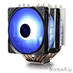 CPU cooler DEEPCOOL NEPTWIN RGB LGA775/1155/1156//1150/2011 6HP, 2*120mm+140mm RGB ,900-1600rpm 6 HP