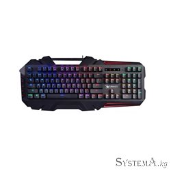 A4TECH BLOODY B880R LIGHT STRIKE GAMING MECHANICAL RED SWITCH KEYBOARD USB US+RUSSIAN
