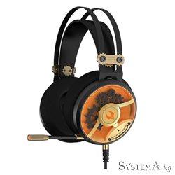 Наушники с микрофоном A4Tech BLOODY M660 HiFi/Gaming Dual-Core MOCI BLACK/RED 3.5mm/USB