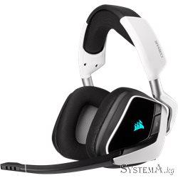 Наушники с микрофоном CORSAIR VOID RGB ELITE Wireless 7.1 White