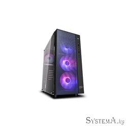 DEEPCOOL ATX  MATREXX 55 MESH ADD RGB 4F w/o PSU 2*USB 3.0  RGB lighting system