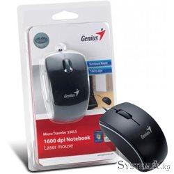 Genius Micro Traveler 330LS Black 1600dpi LASER USB