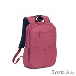 "RivaCase 7760 Red 15.6"" Backpack"