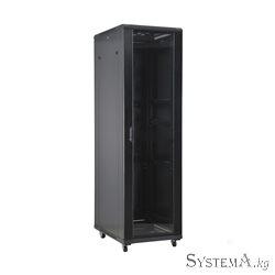 Шкаф серверный SHIP 601S.6642.03.100, 103 серия, 19'' 42U, 600*600*2000 мм, Ш*Г*В, IP20, Чёрный