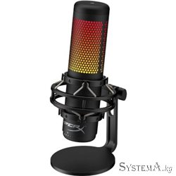 Микрофон HYPERX HMIQ1S-XX-RG HyperX QuadCast Gaming RGB Standalone Mic