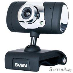 Веб-камера SVEN IC-525, USB 2.0, 720p 1280x1024, 1.3MP Mic