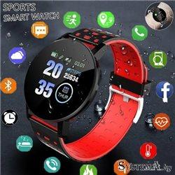 "Умные часы Smart Watch 119 Plus 150mAh, BT 4.0, Display 1.3"""