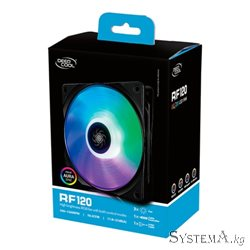 Cooler for PSU/CASE DEEPCOOL RF120(3IN1 SET) RGB LED 3x120x120x25mm Hydro Bearing 1300 RPM