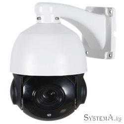 Видеокамера купольная ZKTECO PS-55B10F 5MP  10X  zoom  4.7mm~47mm 6pcs Array LED, IP Camera EZ series  IP PTZ