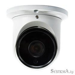 """Видеокамера купольная ZKTECO ES-852O11H 1080P 1/2.9"""" CMOS H.264/H.265 Smart IR IR Range 10-20m Low Light Fixed Lens 2.8mm DWDR P"""