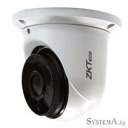 "Видеокамера купольная ZKTECO  ES-852T11H 1080P 1/2.8"" STARVIS CMOS H.264/H.265 Smart IR IR Range 10-20m Starlight/120dB WDR Fixe"