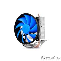 CPU cooler DEEPCOOL GAMMAXX-200T LGA775/1155/1151/1150/AMD 92x25mm,900-2200rpm,2HP