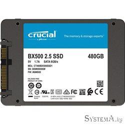 "SSD CRUCIAL BX500 480GB 3D NAND 2,5"""" SATAIII"
