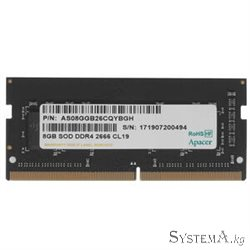 Notebook memory SODIMM DDR4 8GB PC-21333 (2666MHz) Apacer [ES.08G2V.GNH]