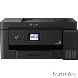 МФУ Epson L14150 (Printer-copier-scaner-fax, A3+, 17/9ppm (Black/Color), 4800x2400 dpi, 64-256g/m2, 1200x2400 scaner/copier,LCD