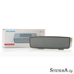 Колонка Bluetooth S815 (5W, Radio, MP3, USB, 1200 mAh)