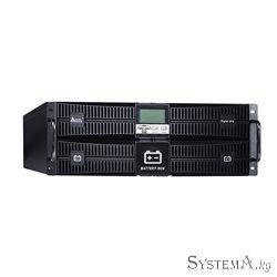 UPS SVC RT-6KL-LCD, Мощность 6кВА/6кВт, Стоечный 19'' 4U, RT-серия, On-Line, LED-LСD\RS-232, SMART USB, Диапазон работы AVR: 110
