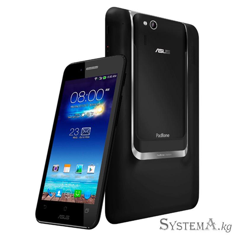 "Asus Padfone Mini 16GB Black RU (A11-1A025WWE), Qualcomm Snapdragon 400 1.4GHz QuadCore, 1GB, 16GB, MicroSD, Phone 4.3"" qHD (960"