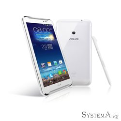 "Asus FonePad Note 6 RU White (ME560CG), Intel® Atom™ Z2580 2.0 GHz Dual-Core, 3G Voice, 2GB, 16GB, MIcroSD, 6"" FullHD (1920x1080"