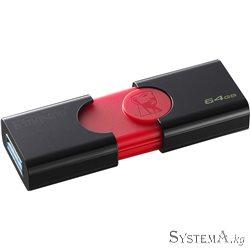 Flash Drive 64GB Kingston DT106 USB 3.0