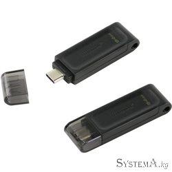 PEN DRIVE 64GB USB-C 3.2 Kingston Data Traveler 70 [DT70/64]