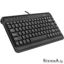 Keyboard A4tech KL-5, USB, Размер: 320*166*23 мм., Длина кабеля 1,5 метра, Чёрный
