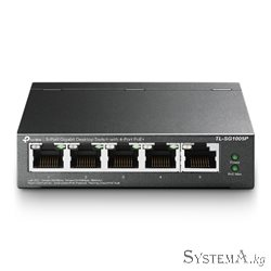 HUB Switch TP-Link TL-SG1005P 5-port Gigabit Desktop Switch with 4-Port PoE