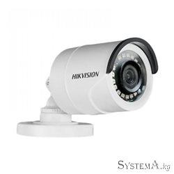 Turbo HD камера буллет уличная HIKVISION DS-2CE16D0T-IPF (2MP/2.8mm/1920х1080/0.01 Lux/IR 20m/IP66/Turbo Full HD/HD-TVI, CVI, AH
