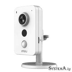 Камера iP DAHUA IMOU IPC-K42AP(2.8mm) кубическая 4MP,IR 10M,PoE,microSD,MIC,PIR (форма-прямоуг.)