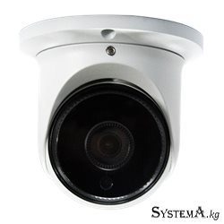 "Видеокамера купольная ZKTECO  ES-854N12H  4MP 1/3""CMOSH.264/H.265Smart IR IR Range 10-20m Fixed Lens 3.6mm 120dB WDR PoE Alumini"