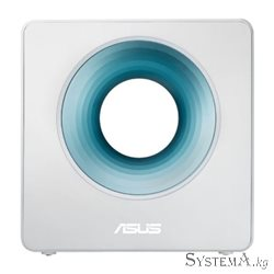 Роутер Wi-Fi ASUS Blue Cave AC2600 Dual-Band, 1733Mb/s 5GHz+800Mb/s 2.4GHz,  4xLAN 1Gb/s, 4 антенны, USB 3.0, ASUS Router APP,Ai