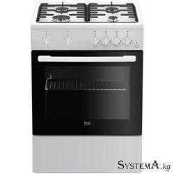 FFSS 62010 GW (белый, 4 газовые конфорки, эл.духовка)