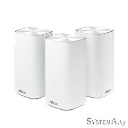 Mesh Wi-Fi система ASUS CD6(3-PK) AC1500 Dual-Band, 867Mb/s 5GHz+600Mb/s 2.4GHz,3xLAN 1Gb/s, 4 антенны, Aimesh, ASUS Router APP,
