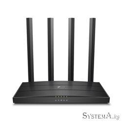 Роутер Wi-Fi TP-LINK Archer C80(RU) AC1900 Dual-Band, 1300Mb/s 5GHz+600Mb/s 2.4GHz, 4xLAN 1Gb/s, 4 антенны, USB 2.0, IPTV, MU-MI