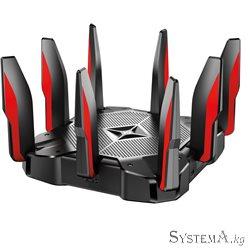 Роутер Wi-Fi TP-LINK Archer C5400X AC5400 Tri-Band Wi-Fi, 2167+2167Mb/s 5GHz+1000Mb/s 2.4GHz, 8xLAN 1Gb/s, 8 антенн, USB 3.0, IP