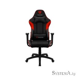 Gaming Chair ThunderX3 EC3 BLACK&RED 50mm wheels PVC Leather