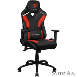 Gaming Chair ThunderX3 TC3 EMBER RED 2D Armrest 65mm wheels PVC Leather