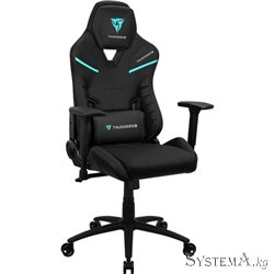 Gaming Chair ThunderX3 TC5 BLACK 3D Armrest 65mm wheels PVC Leather