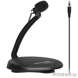 Микрофон Promate TWEETER‐5 Black(петличка)