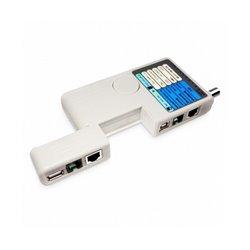 Кабельный тестер SHIP G268, Для тестирования BNC, RJ-45, RJ-11, USB