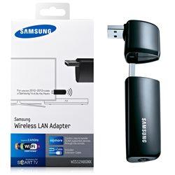 Samsung WiFi Dongle WIS12ABGNX/RU -диапозон частот 2.41-2.48/5.15-5.85 ГГц, интерфейс USB 2.0, USB кабель-удлинитель