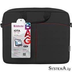 """Сумка для ноутбука Defender Iota до 16"""" (черный)"""