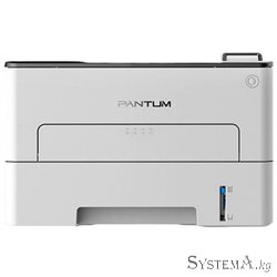 Принтер Pantum P3010DW (A4, ADF, Printer Monochrome Laser, 1200x1200, 30ppm, Duplex Print, USB, LAN, Wi-Fi, NFC, White)