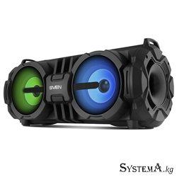 Акустическая система 2.0 SVEN PS-485, черный RMS 28 (2 × 14), USB питание DC 5В.Bluetooth